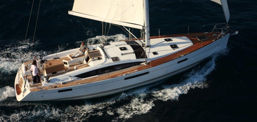 jeanneau sailboat